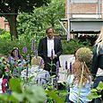 Henk Bleker bezoekt Foodscape Schilderswijk